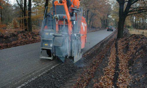 60 cm asfaltfrees zijkant