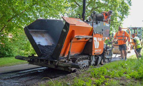 Asfaltafwerkmachine huren bij WEMAC - Verhuur ...