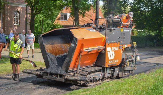 asfaltafwerkmachine klein