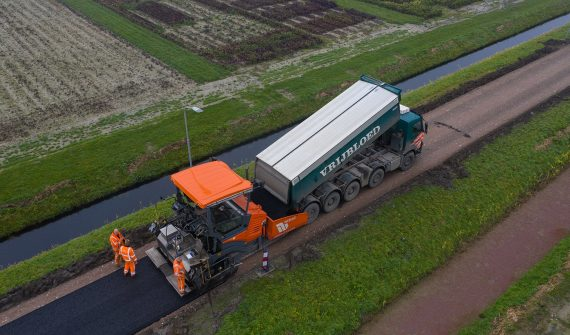 asfaltmachine 2.50 - 5m